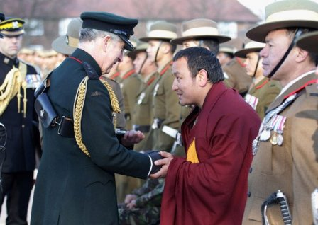 Khenpo Hungtrampa and Prince Charles