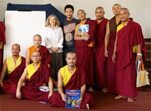 English and Chinese Language Classes at Shechen Nepal