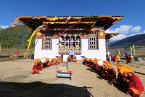 Consecration of new Shechen Monastery in Phobjika, Bhutan