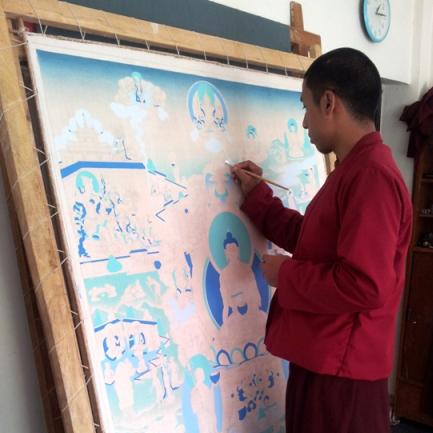 Tsering Art School: Preserving the Sacred Arts
