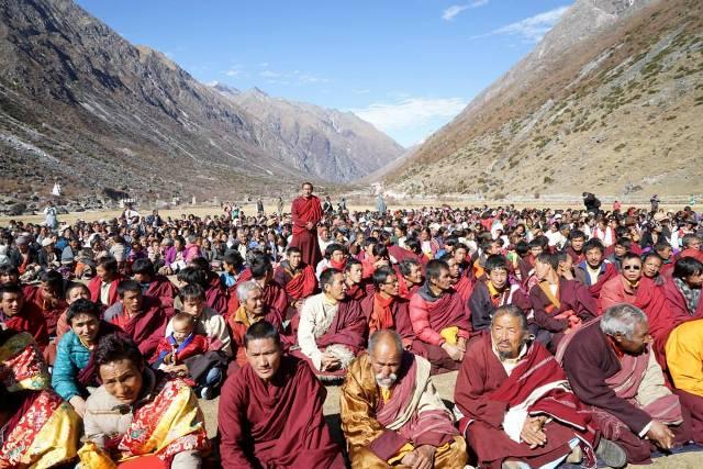 Khyentse Yangsi Rinpoche visits Mugu, Nepal