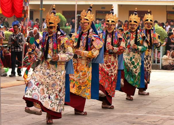 Shechen drupchen ceremony