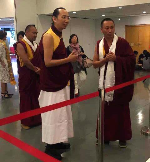 His Eminence Ratna Vajra Rinpoche's visit