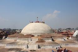 Jarongkashor Stupa in Boudhanath