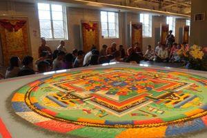 Tsering Art School Exhibition in Hong Kong
