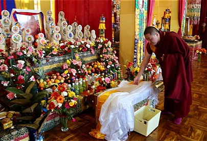Passing of Ven. Yangthang Rinpoche