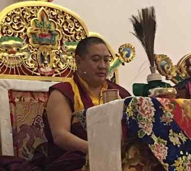 Shechen Rabjam confers Kyabje Dilgo Khyentse Rinpoche's Treasure Teachings