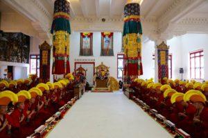 Inside Shechen Monastery 2017