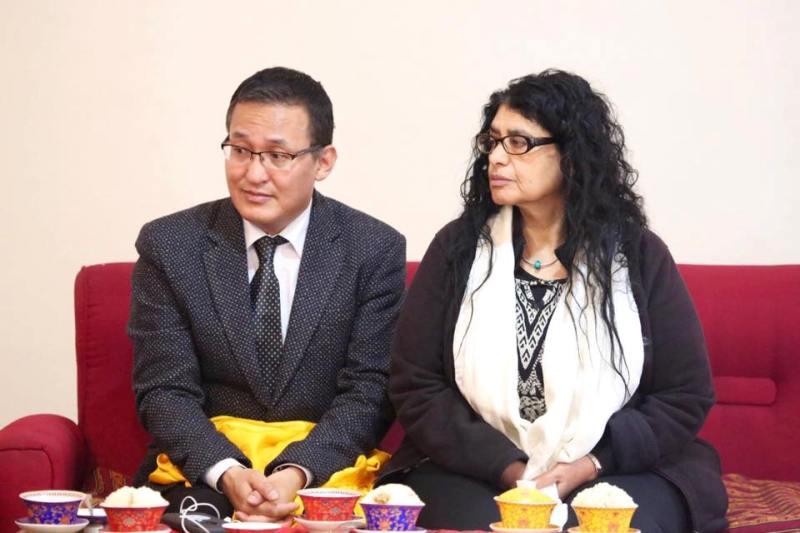 Professor Dorje Wangchuk and Dr. Orna Olmagi