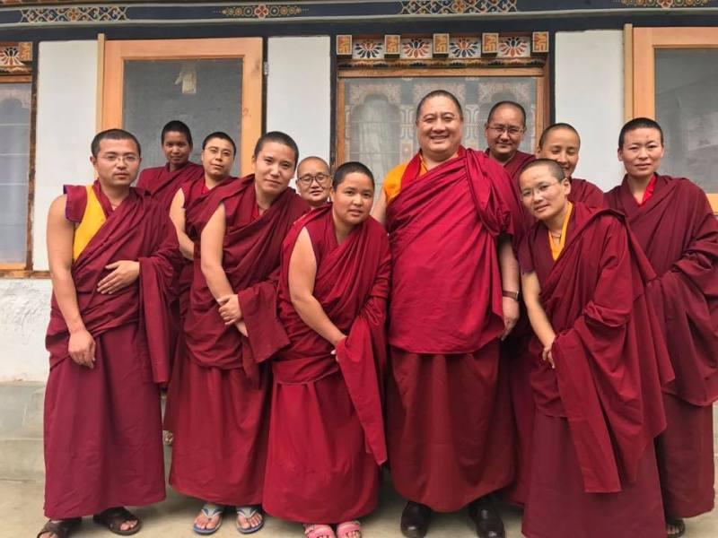 Shechen nuns sacred dance